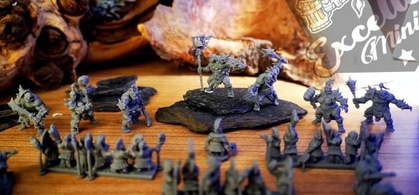 Set of Ogre Tribal Warriors