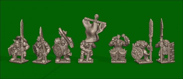 Orcs&Goblins - Individual Orc Warriors Comand