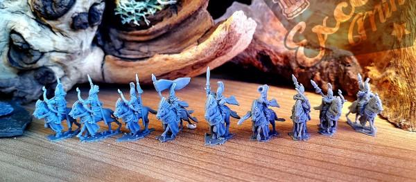 Noble Elves - Full Light Cavalry Regiment