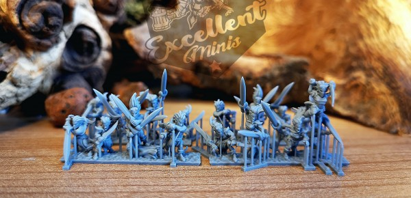 Elves of the Wood - Full BladeDancer Regiment