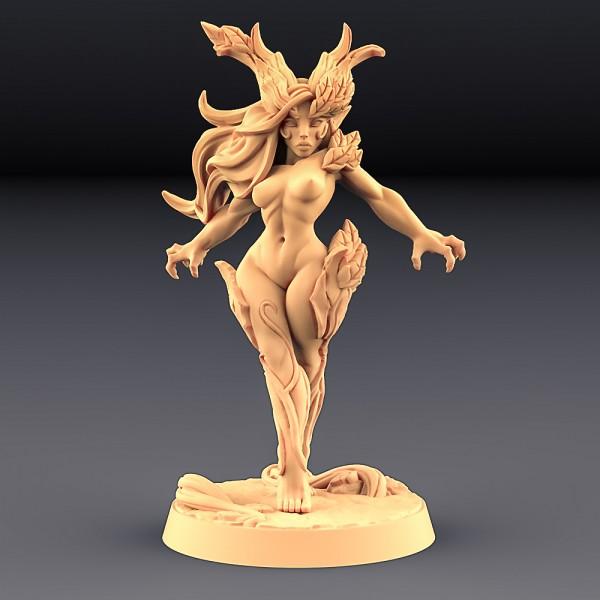 Aidreth Treeborn - Deepwood Alfar (Fantasy Pin-Up)