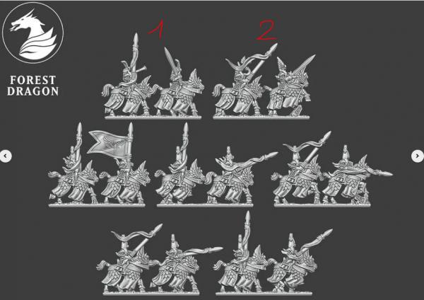 Noble Elves - Full Knight Regiment FD 1