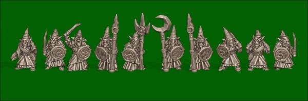 Orcs&Goblins - Individual Goblin Warriors