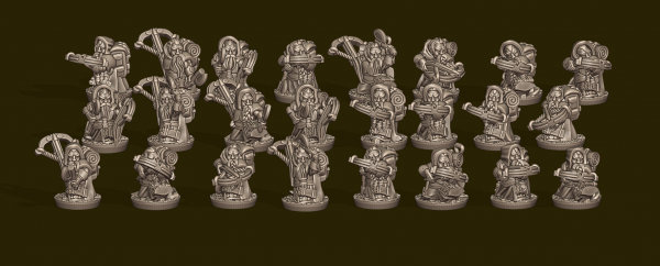 Dwarven Lords - Individual Crossbows Pack