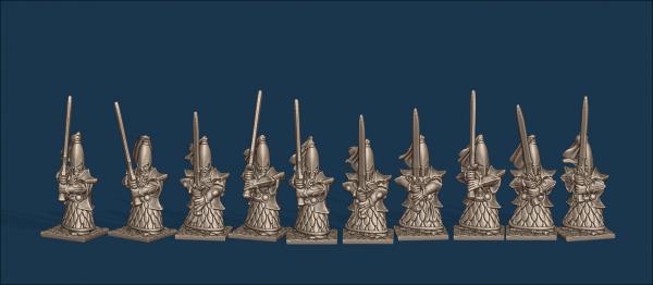 Noble Elves - Individual GreatSwords Soldiers Pack