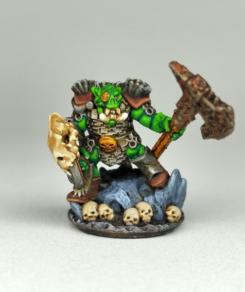 Orcs&Goblins - Orc Hero 1 (big Axe and Shield)