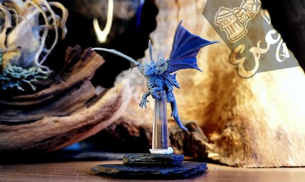 Noble Elves - Champion on Drakeling (Ilhadiel Helmet)