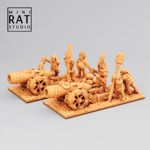 Empires of Man - Full Great Cannons Assembly (MiniRat Style)
