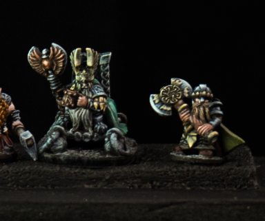 Dwarven Lords - King and Bodyguard