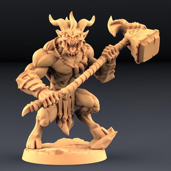 Abyss Demon Guardian - B