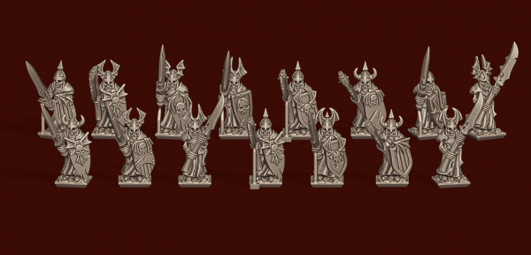 Vampire Lords - Individual Heavy Skeleton Unit Pack