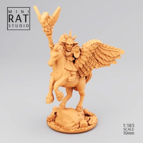 Empires of Man - Wizard on Pegasus (MIniRat Style)