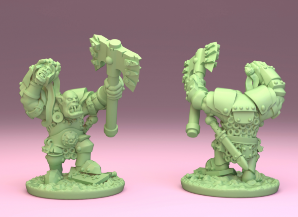 Orcs&Goblins - Orc General on Foot 2