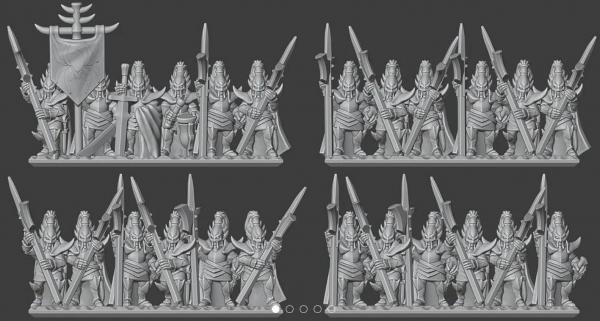 Shadow Elves - Full Royal Guard Regiment