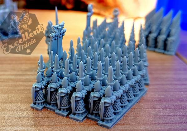 Noble Elves Infantry Strip