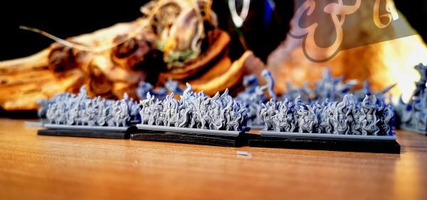 Demonic Hordes - Full Flamelings Regiment