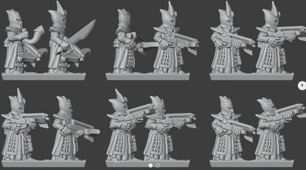 Shadow Elves - Full Crossbow Regiment