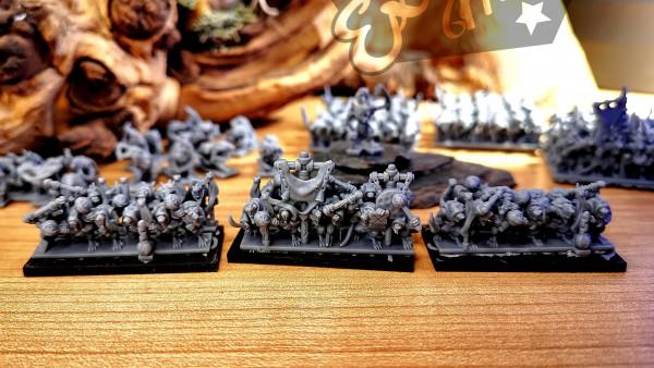 Vermin Clans - Full Plaque Rats Fanatics Regiment
