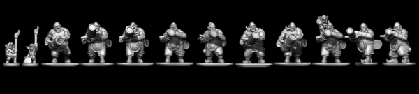 Ogre Tribes - Cannoneers
