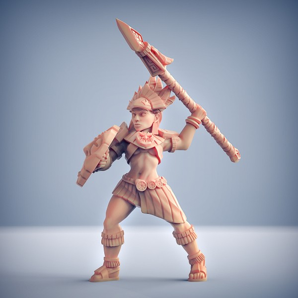 Inca Warrior - C