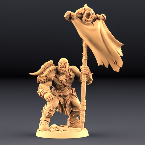 Orc Barbarian - A (Male)