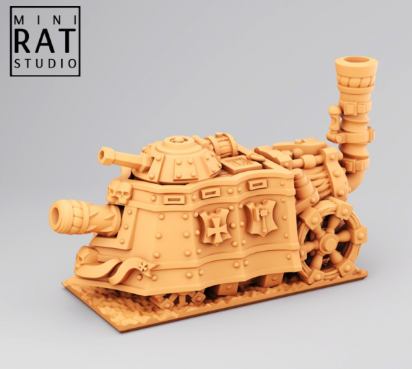 Empires of Man - Clockwork Tank (MiniRat Style)
