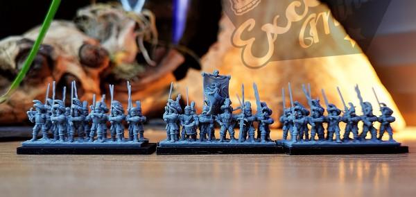 Empires of Man - Full Greatsword Regiment