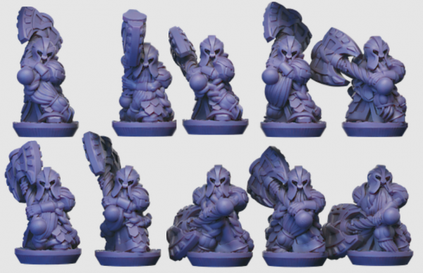 Dwarven Lords - Individual Great Axe Elite