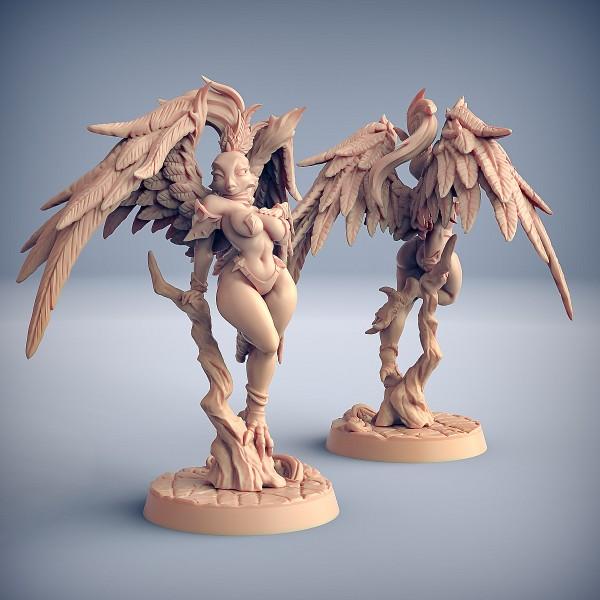 Gryphinia the Enchantress (Fantasy Pin-Up) (variant 1)