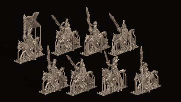 Empires of Man - Individual Chivalric Knights