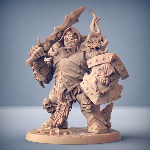 Frostmetal Ogre - F