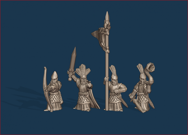 Noble Elves - Individual Archers Command