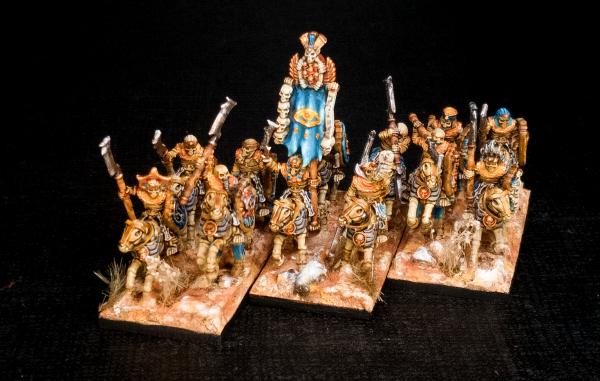 Desert Kings - Full Skeleton Cavalry Regiment