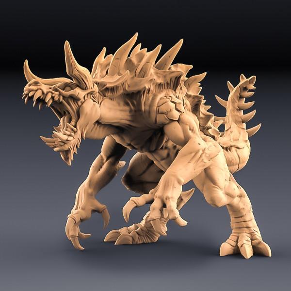 Tarasque - The Legendary Devourer (with horns)