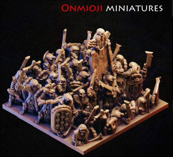 Desert Kings - Full Pyramid Guard Regiment