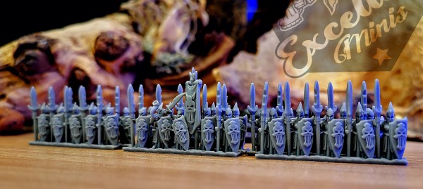Shadow Elves - Full Infantry Regiment 2 (skulls)