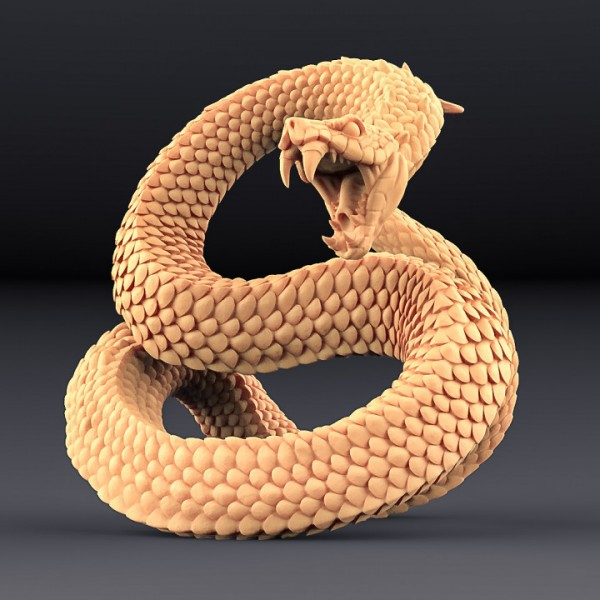 Giant Snake - A