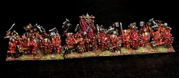 Dark Champions - Full Warriors Regiment (God of Rage)